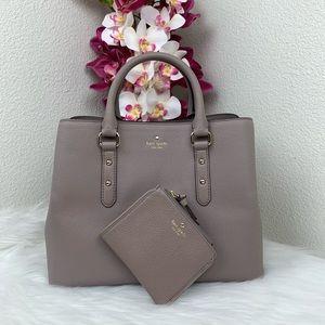 Kate Spade Evangelie Satchel & wallet
